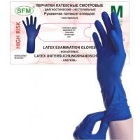 Перчатки диагностические нестерильные.